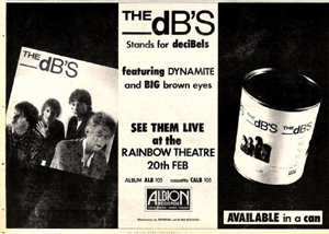 The dBs advert