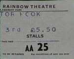 Dr Hook ticket