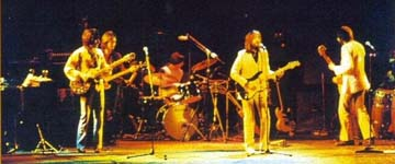 Eric Clapton & Band on stage
