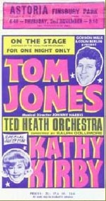 Tom Jones, Kathy Kirby poster
