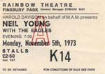 Neil Young ticket