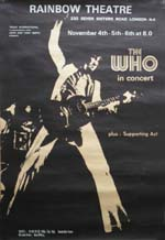 The Who press advert